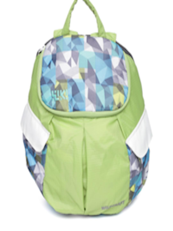 Buy Wiki By Wildcraft Kids Green Blue Printed Backpack Backpacks