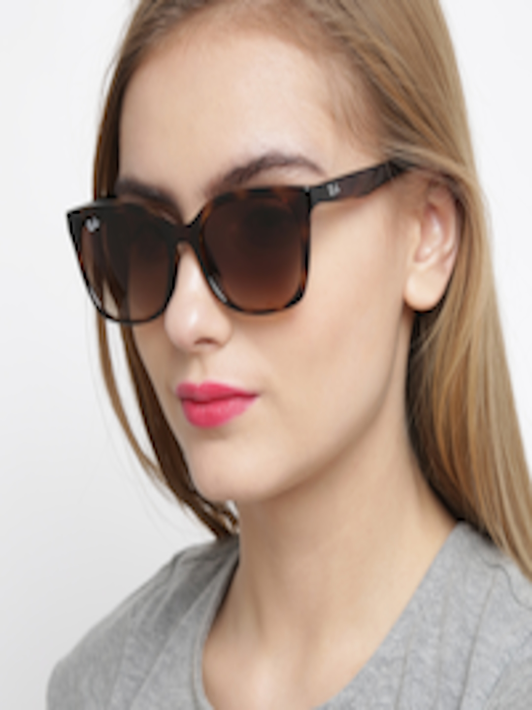 5606650da5 Buy Ray Ban Women Printed Oval Sunglasses 0RB7060I710 1354 - Sunglasses for  Women 1494406