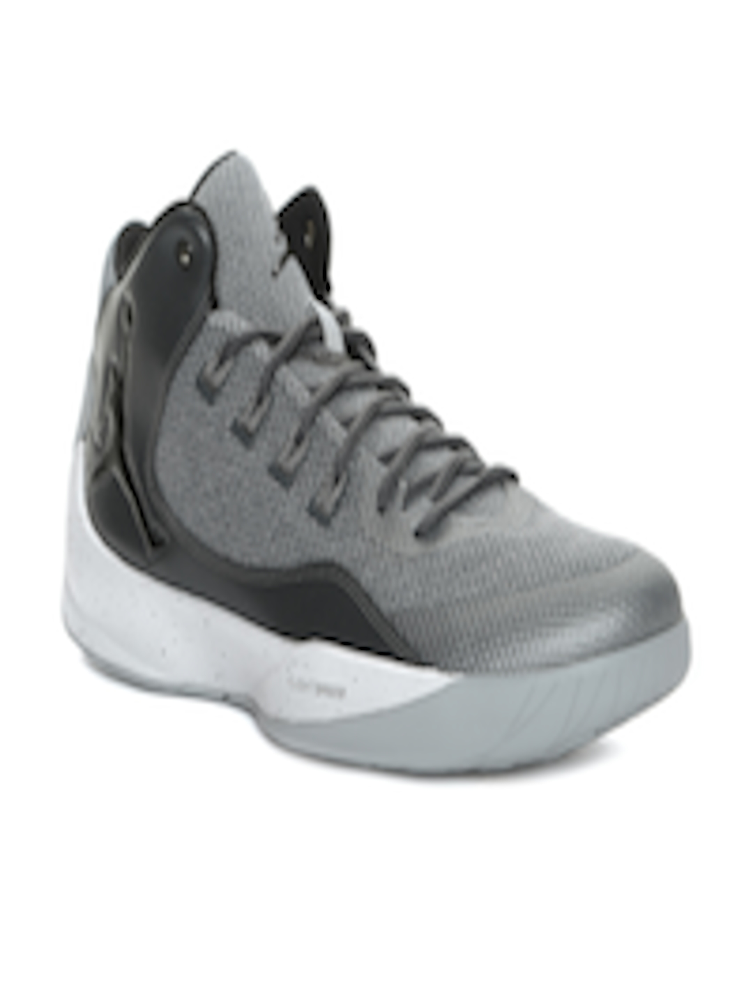 the latest be1ca 22e8b Buy Nike Men Grey Jordan Rising High 2 Basketball Shoes - - Footwear for Men