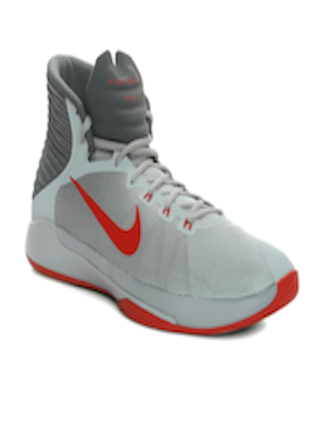 new style 8d3c1 2e1f7 Buy Nike Men Grey Prime Hype DF 2016 Basketball Shoes - - Footwear for Men