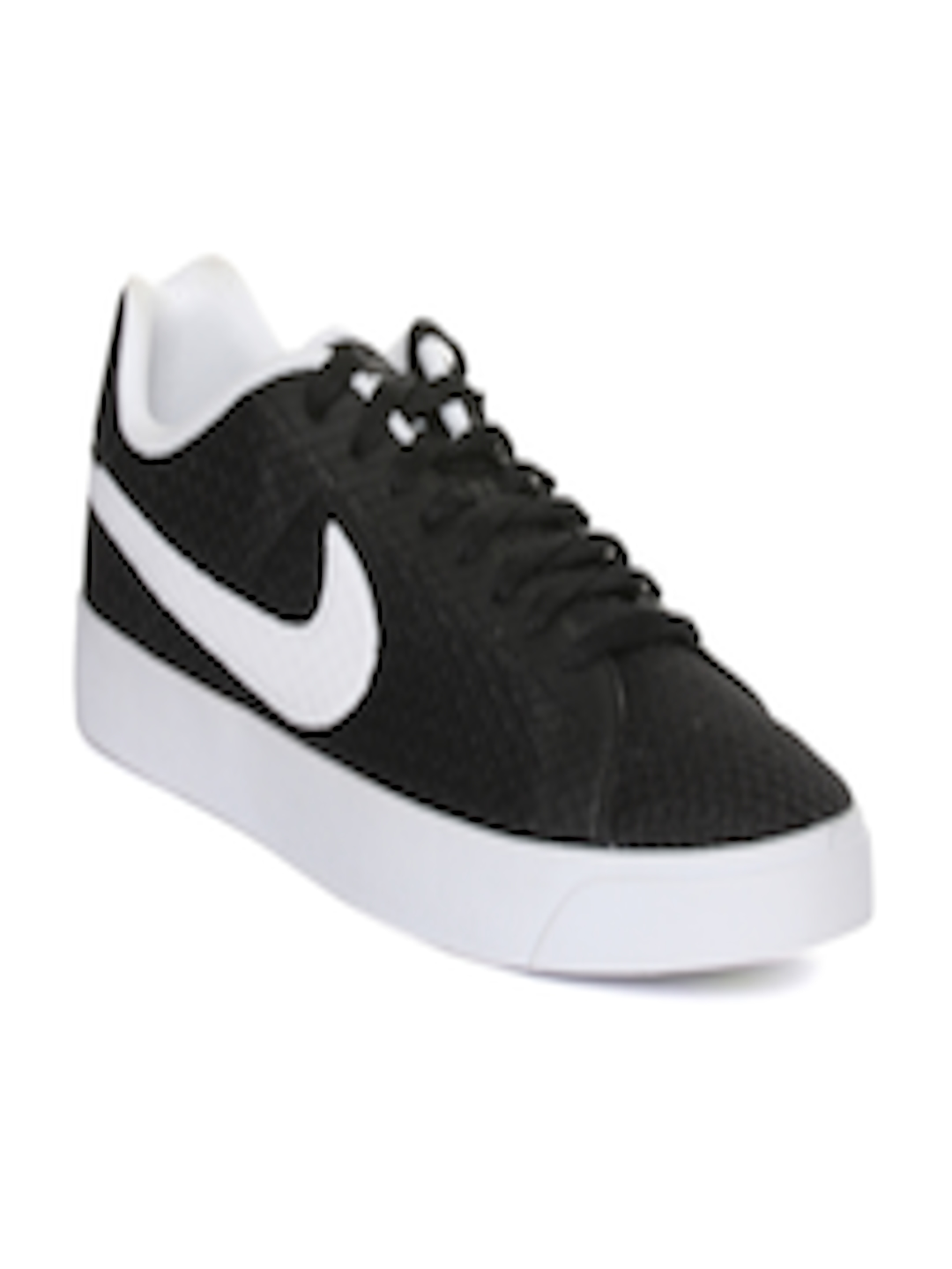 Buy Nike Men Black Court Royale Lw Txt Woven Regular