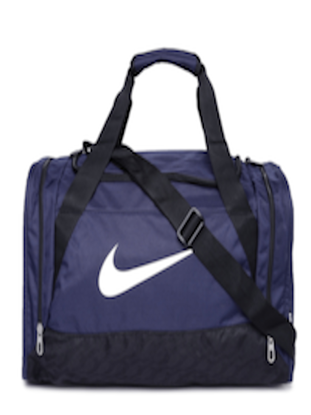 1b8cbf173 Buy Nike Unisex Navy Small Brasilia 6 Duffel Bag - Duffel Bag for Unisex  1548029 | Myntra
