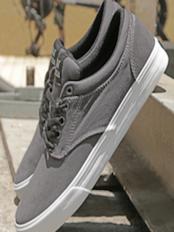 bc085f4c3b5c Buy Supra Men Grey Chino Skate Shoes - Casual Shoes for Men 1582363 ...