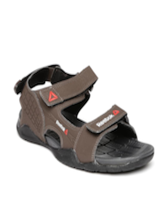 b79e3db3b63828 Buy Reebok Men Brown Adventure Z Supreme Sports Sandals - Sports Sandals  for Men 1601663