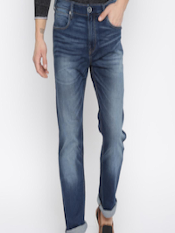 Buy Flying Machine Men Blue Django Fit Jeans - Jeans for ...