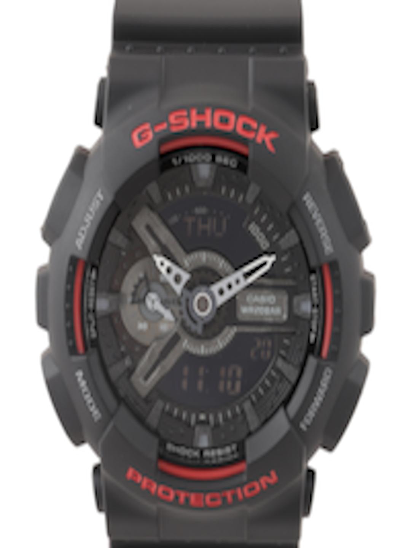 a0a6df03b9a0d Buy CASIO G Shock Men Black Digital   Chronograph Dial Watch GA 110HR 1ADR  G700 - Watches for Men 1605763