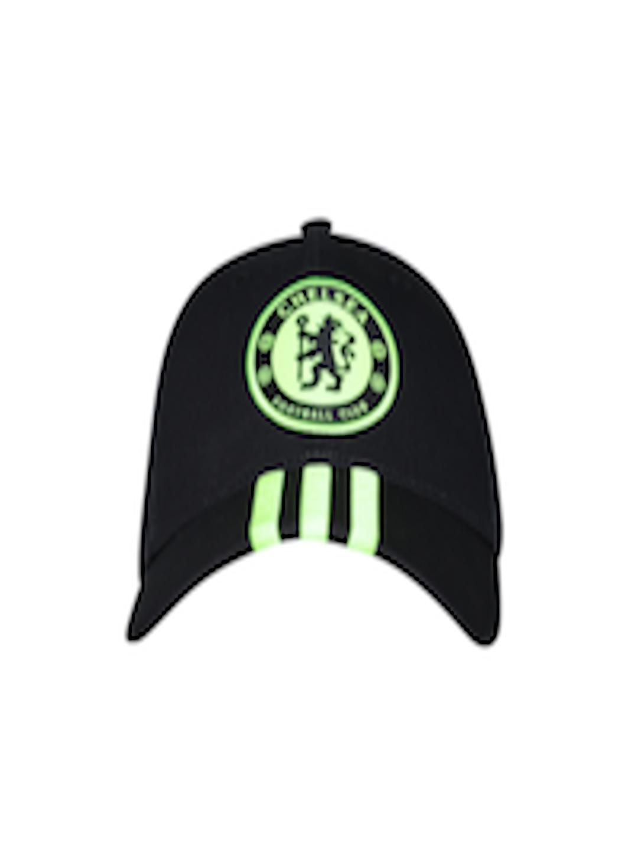 Buy ADIDAS Unisex Black Chelsea F.C. 3S Cap - Caps for Unisex 1668597  c73f5e10f863