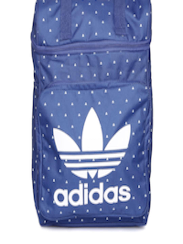 6cfa68313 Buy ADIDAS Originals Men Blue Pharrell Williams HU CLASS Printed Laptop  Backpack - Backpacks for Men 1668795 | Myntra