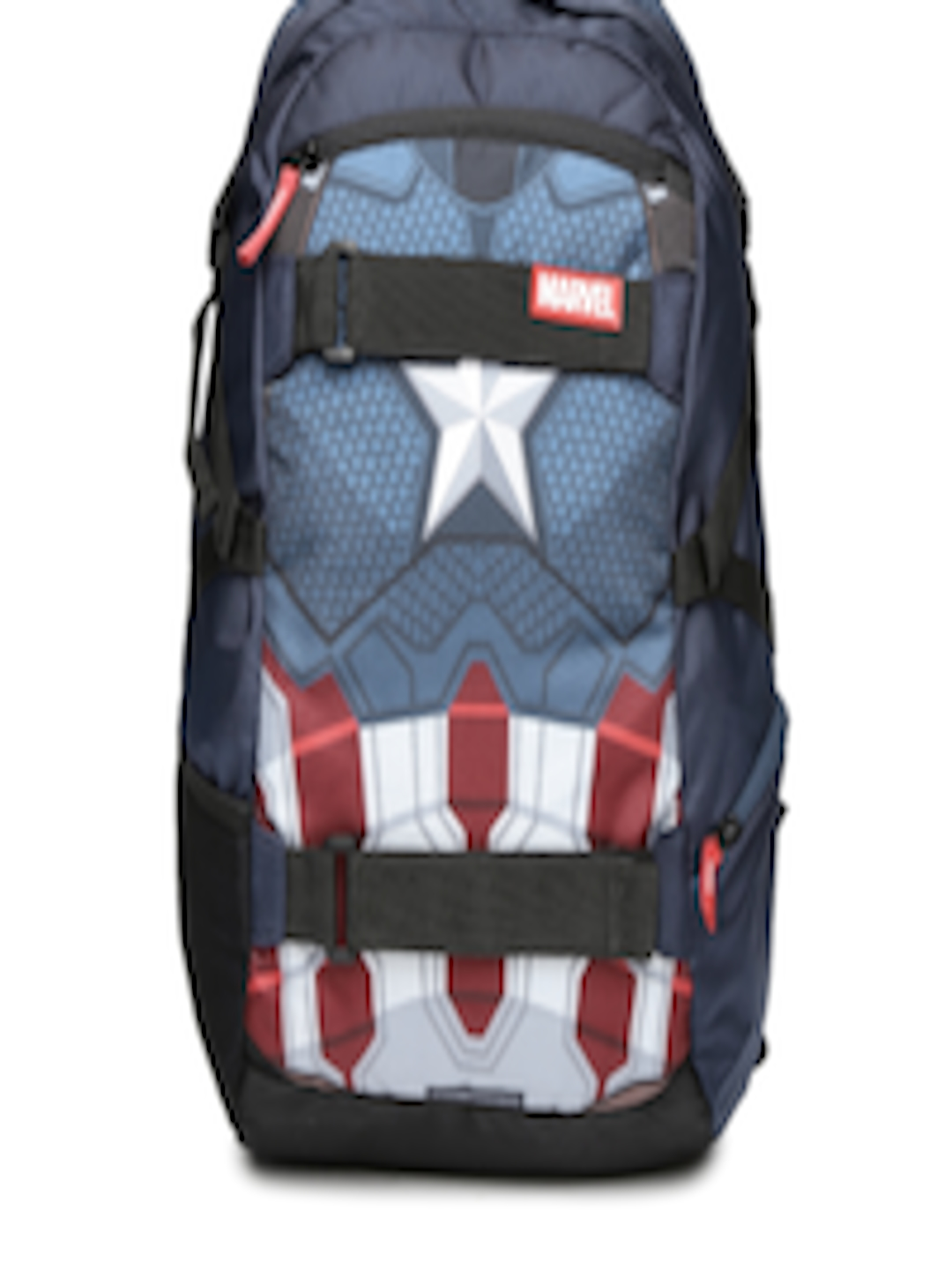 buy kook n keech marvel unisex navy captain america star printed backpack
