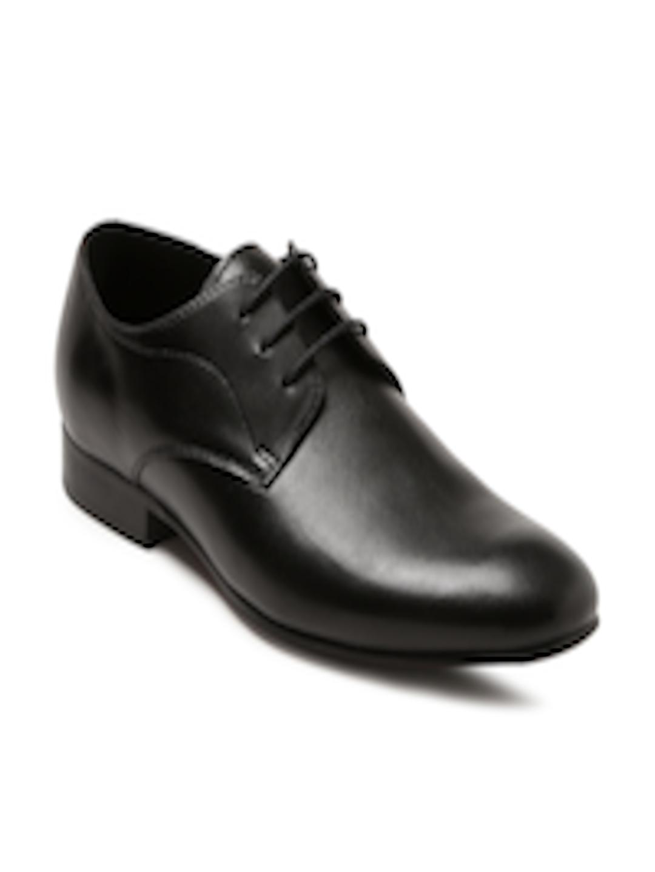 2e83ba93de5 Buy Steve Madden Men Black Leather Henson Formal Derbys - Formal Shoes for  Men 1717344