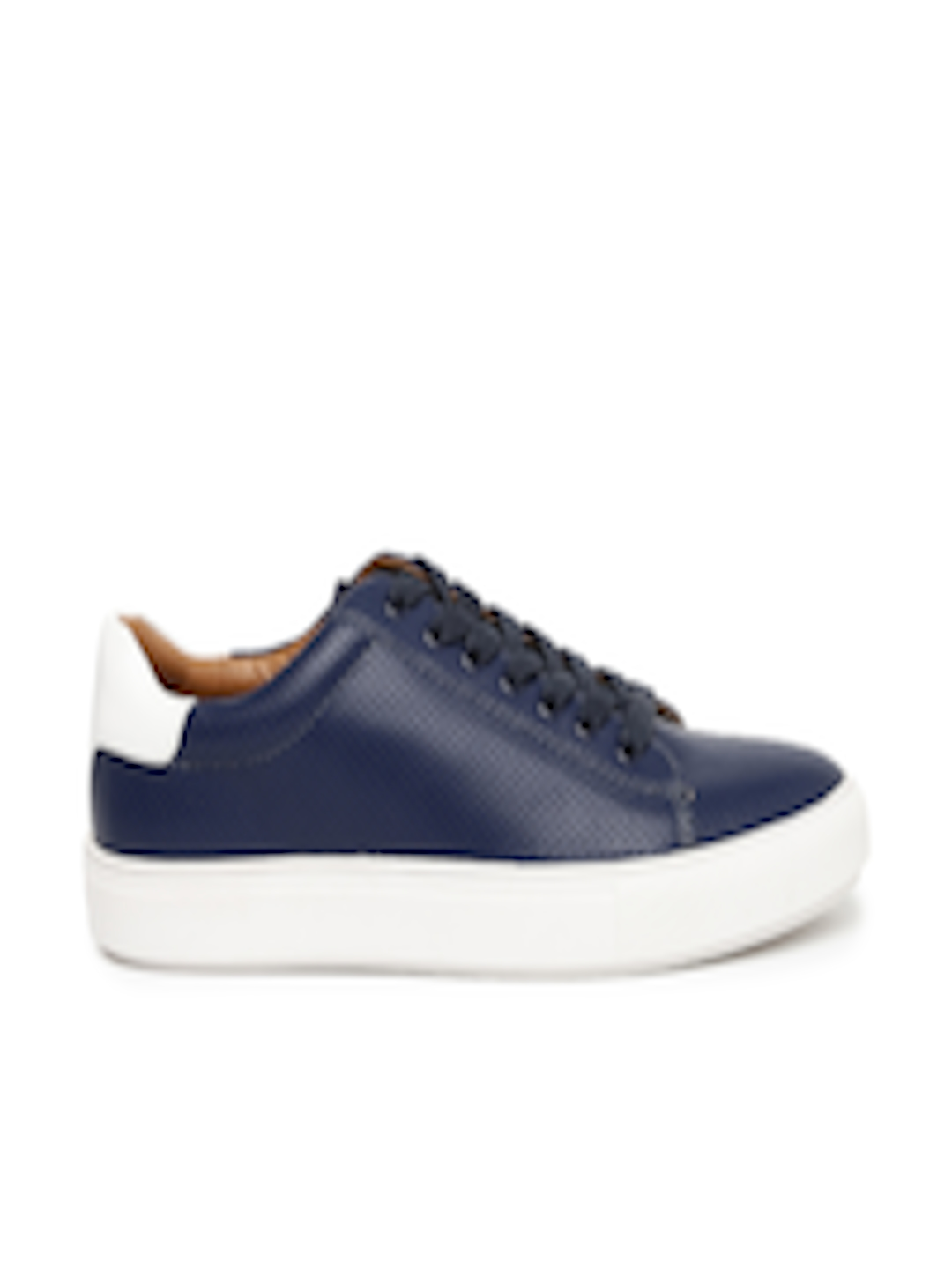 164fc99e3ce Buy Steve Madden Men Navy Blue HESTER Perforated Sneakers - - Footwear for  Men