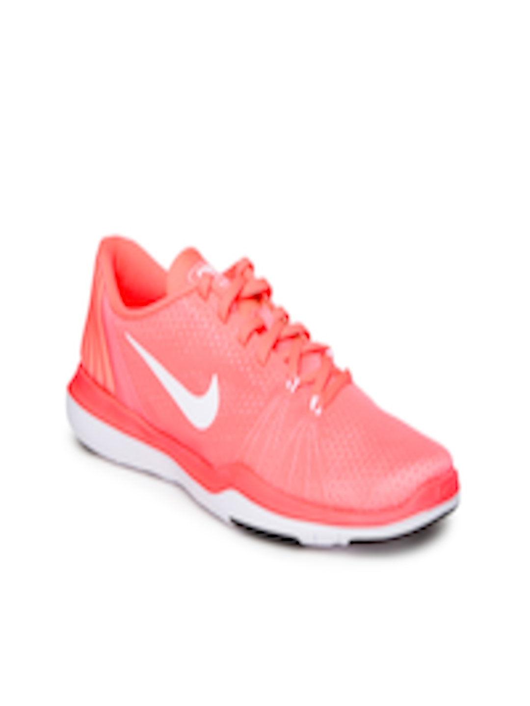 a52c25b5d479 Buy Nike Women Pink Flex Supreme TR 5 Training Shoes - Sports Shoes for  Women 1719431