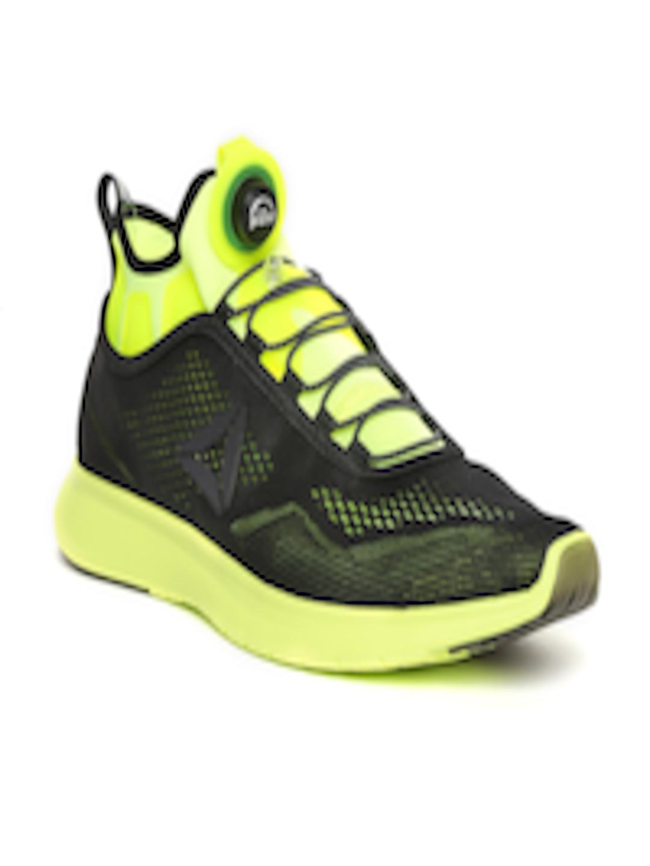 d6b4b3aa546 Buy Reebok Men Black PUMP PLUS TECH Running Shoes - Sports Shoes for Men  1726794
