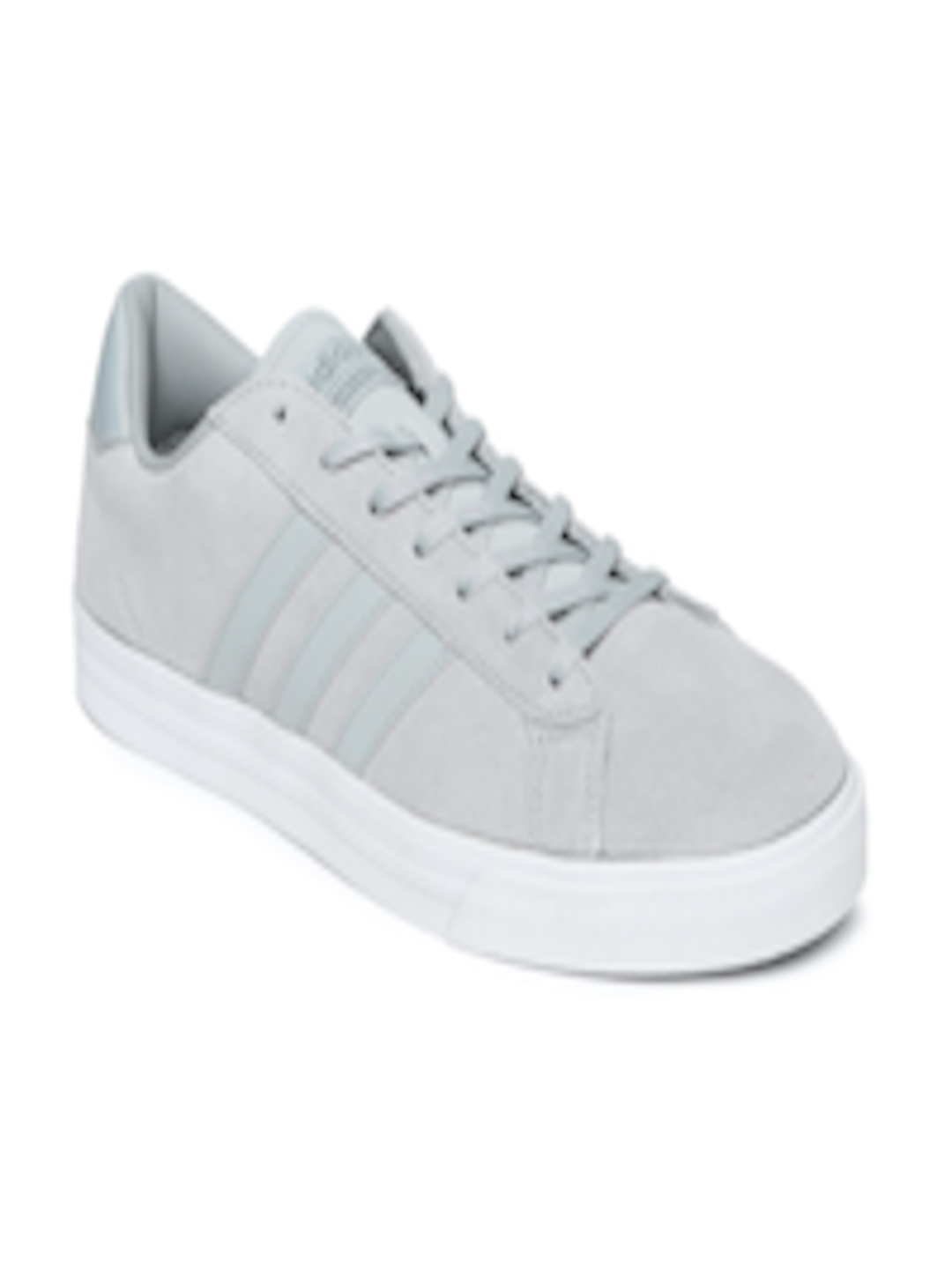 Buy ADIDAS NEO Men Grey Leather Cloudfoam Super Daily Sneakers - Casual  Shoes for Men 1731092  0718f772f