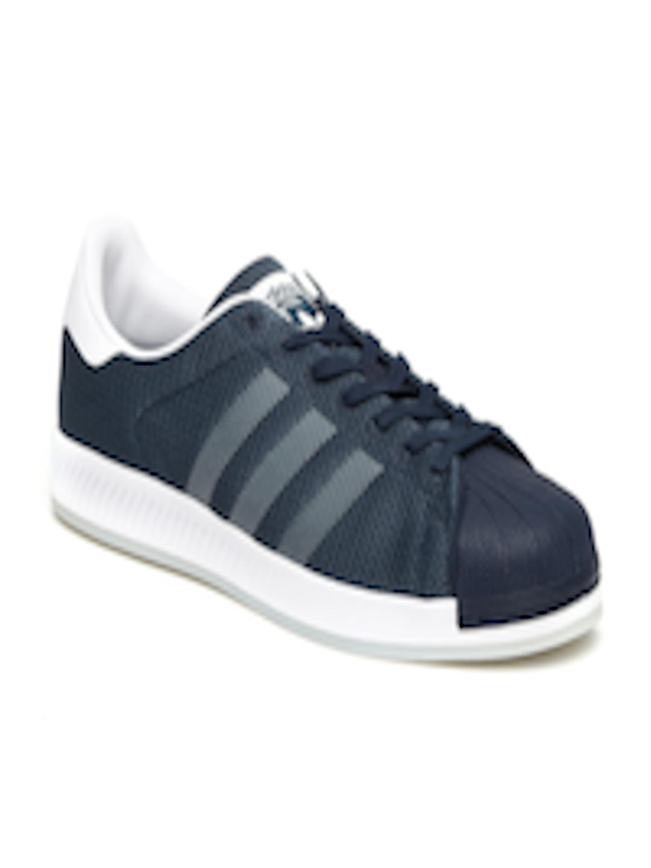 61a92ee10868 Buy ADIDAS Originals Men Navy Blue SUPERSTAR BOUNCE Sneakers - Casual Shoes  for Men 1731226