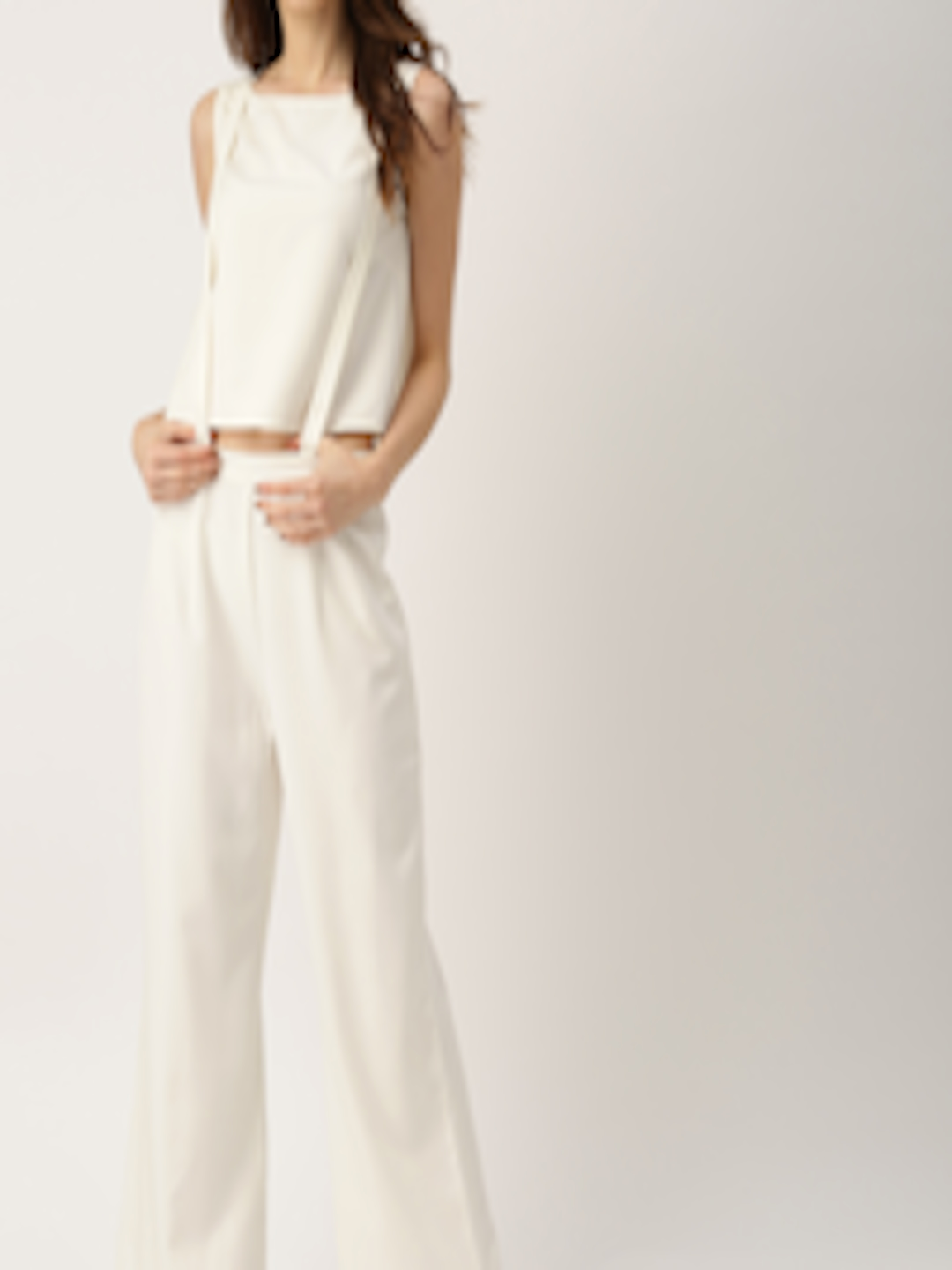 Buy All About You Off White Two Piece Jumpsuit - Jumpsuit ...