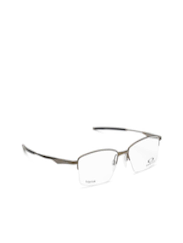 75f6ebbc97b61 Buy OAKLEY Men Gunmetal Toned Half Rim Rectangular Frames 0OX511951190254 -  Frames for Men 1747492