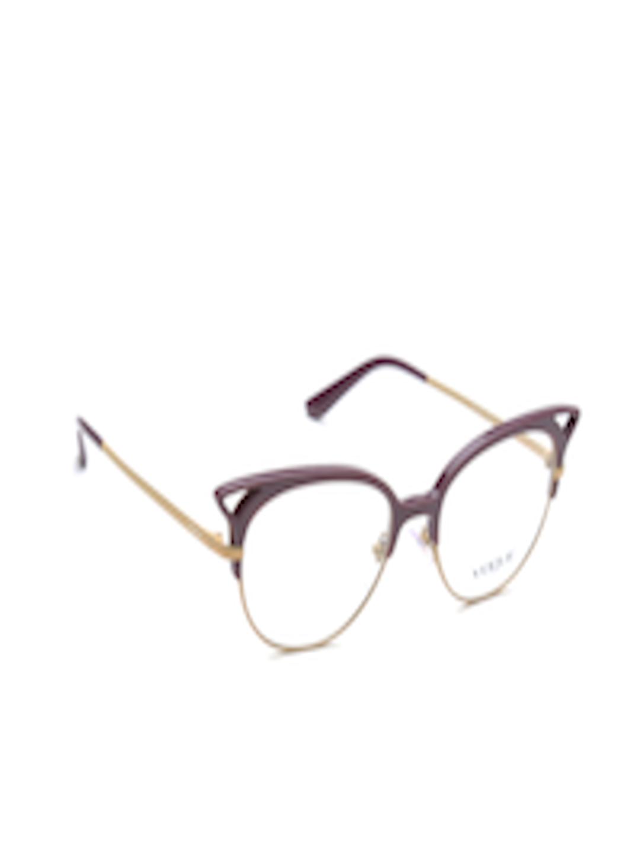 6be0f65f16 Buy Vogue Women Purple   Beige Cat Eye Frames 0VO5138253952 - Frames for  Women 1747715