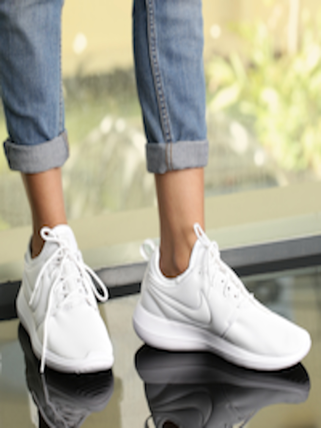 half off 30f54 a31c4 Buy Nike Women White Roshe Two Sneakers - Casual Shoes for Women 1752697    Myntra