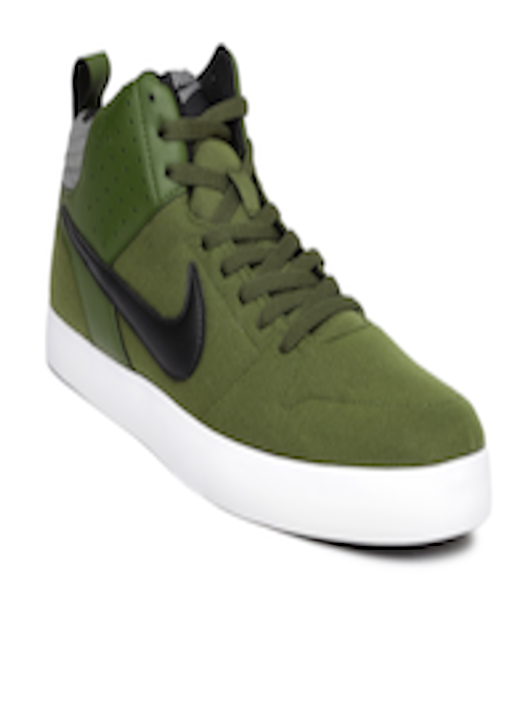 025bbfc36532 Buy Nike Men Olive Green Liteforce III Mid Top Sneakers - Casual Shoes for  Men 1756715