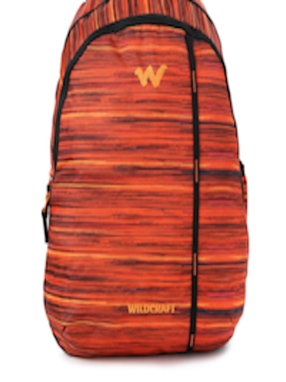 ffac8578d Buy Wildcraft Unisex Orange Printed WC 1 Vistas 1 Backpack - Backpacks for  Unisex 1764128   Myntra