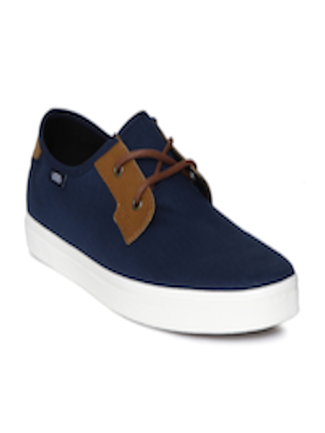 a4c809b6890d Buy Vans Men Navy Blue   Brown Colourblocked MICHOACAN SF Sneakers - Casual  Shoes for Men 1772956
