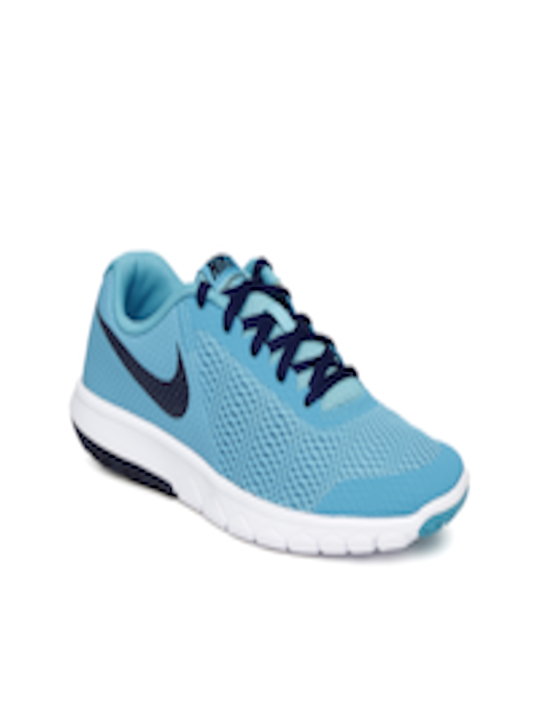 timeless design fc157 5d4a1 Buy Nike Boys Blue Nike Flex Experience 5 GS Running Shoes - Sports Shoes  for Boys 1800905   Myntra