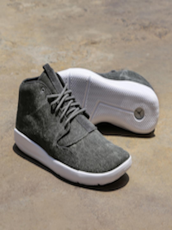 aaca2788e6e1e5 Buy Nike Men Charcoal Grey Jordan Eclipse Chukka Mid Top Sneakers ...