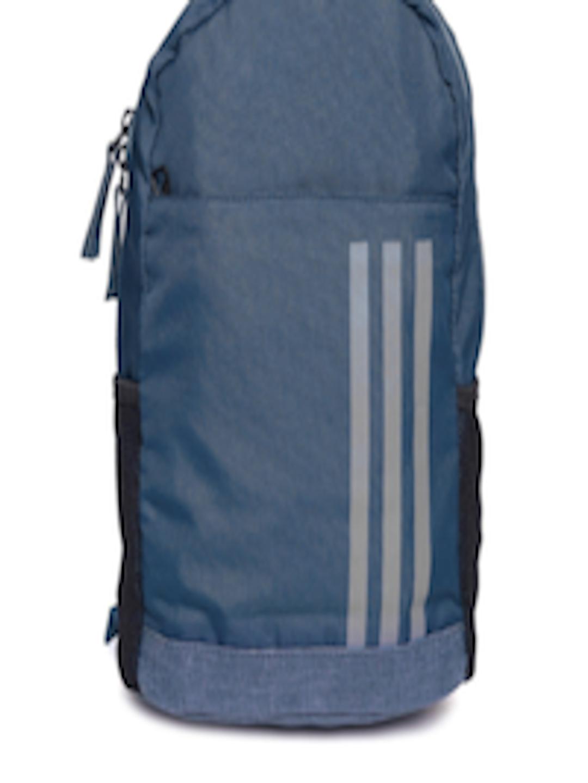 Buy Adidas Kids Navy Clean Xs 3 Stripes Backpack