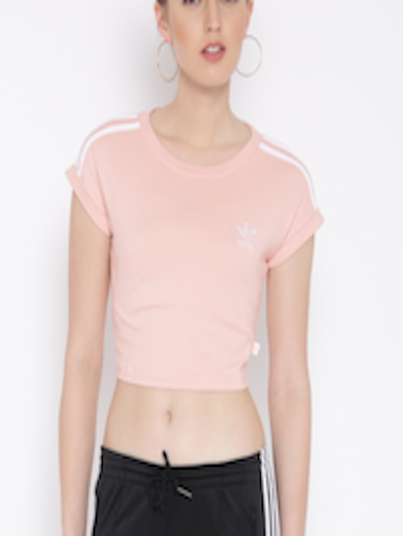Adidas Crop Top Pink