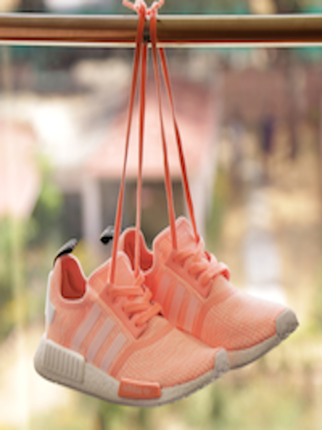146d03e0a76d4 Buy ADIDAS Originals Women Peach Coloured NMD R1 W Woven Sneakers - Casual  Shoes for Women 1827824