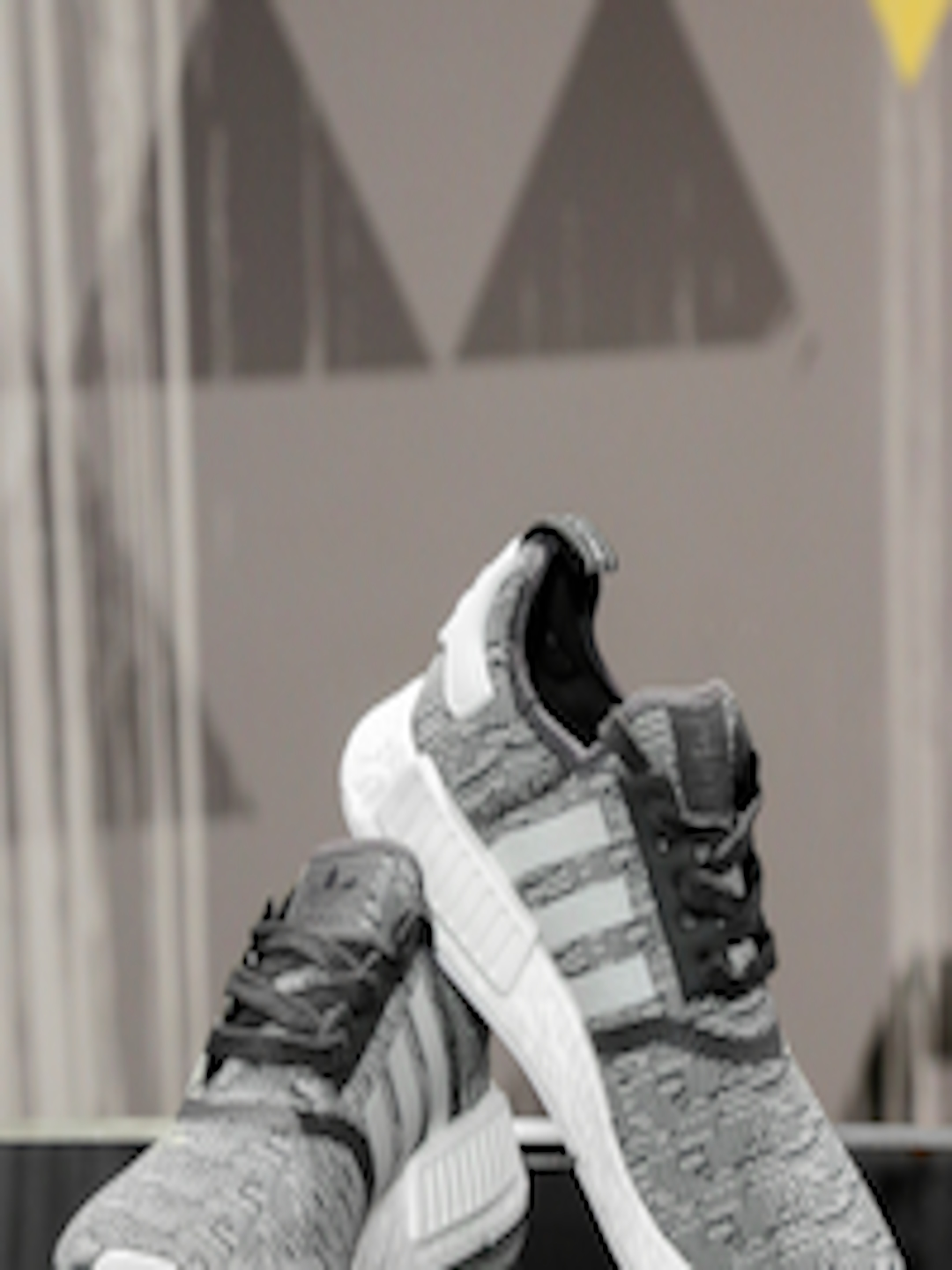 54169257355c Buy ADIDAS Originals Women Grey NMD R1 W Woven Sneakers - Casual Shoes for  Women 1827826