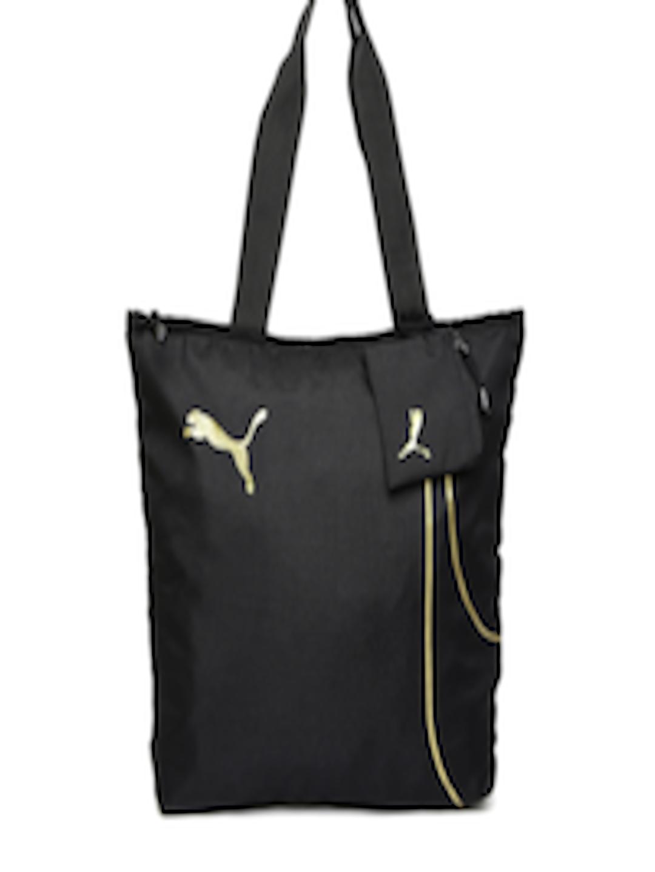 Buy Puma Black Fundamentals Shopper Bag - - Accessories for Women