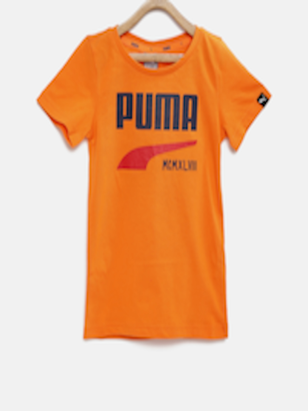 Buy Puma Boys Orange Style Graphic Print T Shirt Tshirts