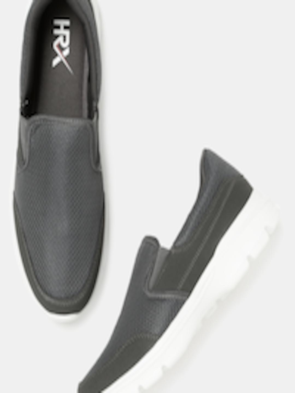 Men Soft walk Series Grey Training Shoes