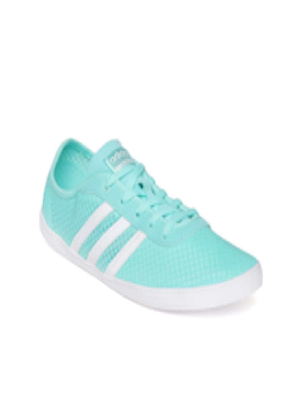 Buy ADIDAS NEO Women Blue CF QT VULC Sea Sneakers Footwear for Women