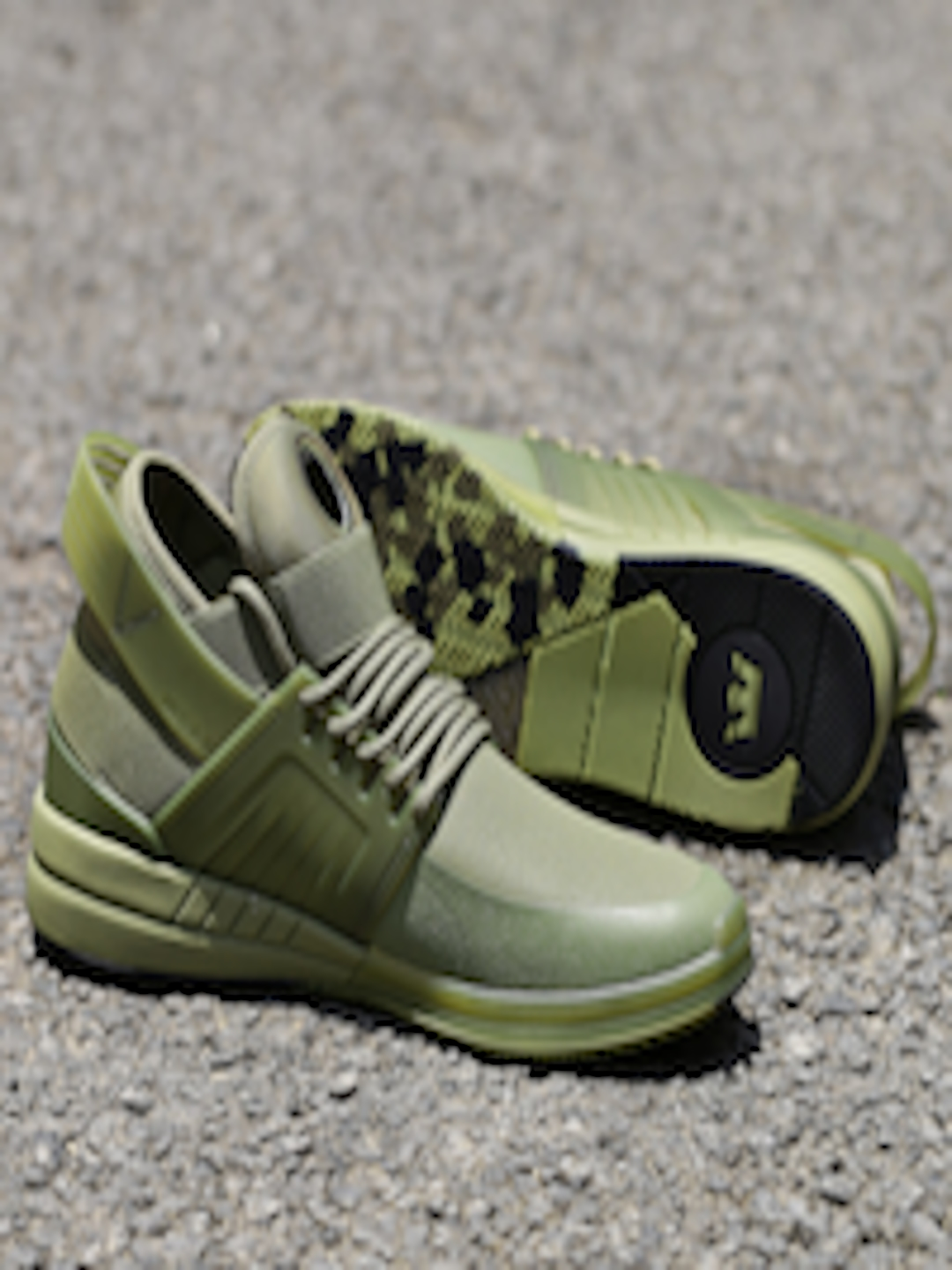 9233a621c000 Buy Supra Men Olive Green Skytop V Mid Top Sneakers - Casual Shoes ...