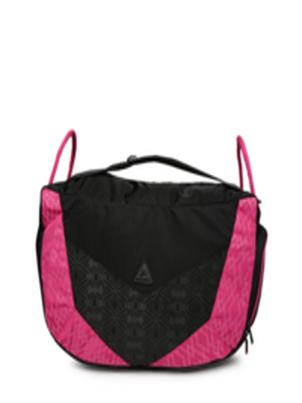Buy Fastrack Black & Pink Printed Shoulder Bag - Handbags ...