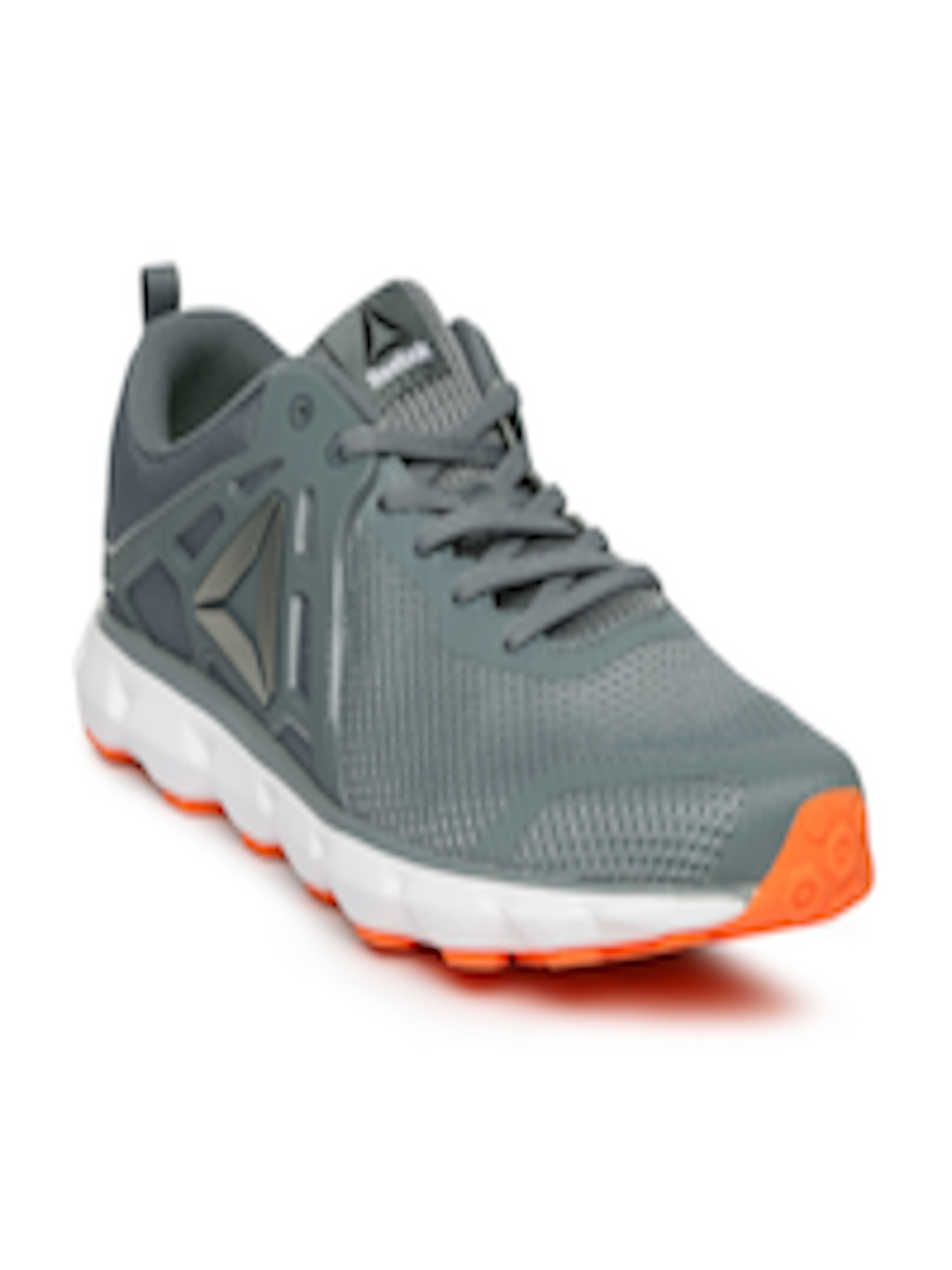 13034d2f55c1 Buy Reebok Men Grey HEXAFFECT RUN 5.0 MTM Running Shoes - Sports Shoes for  Men 1889402