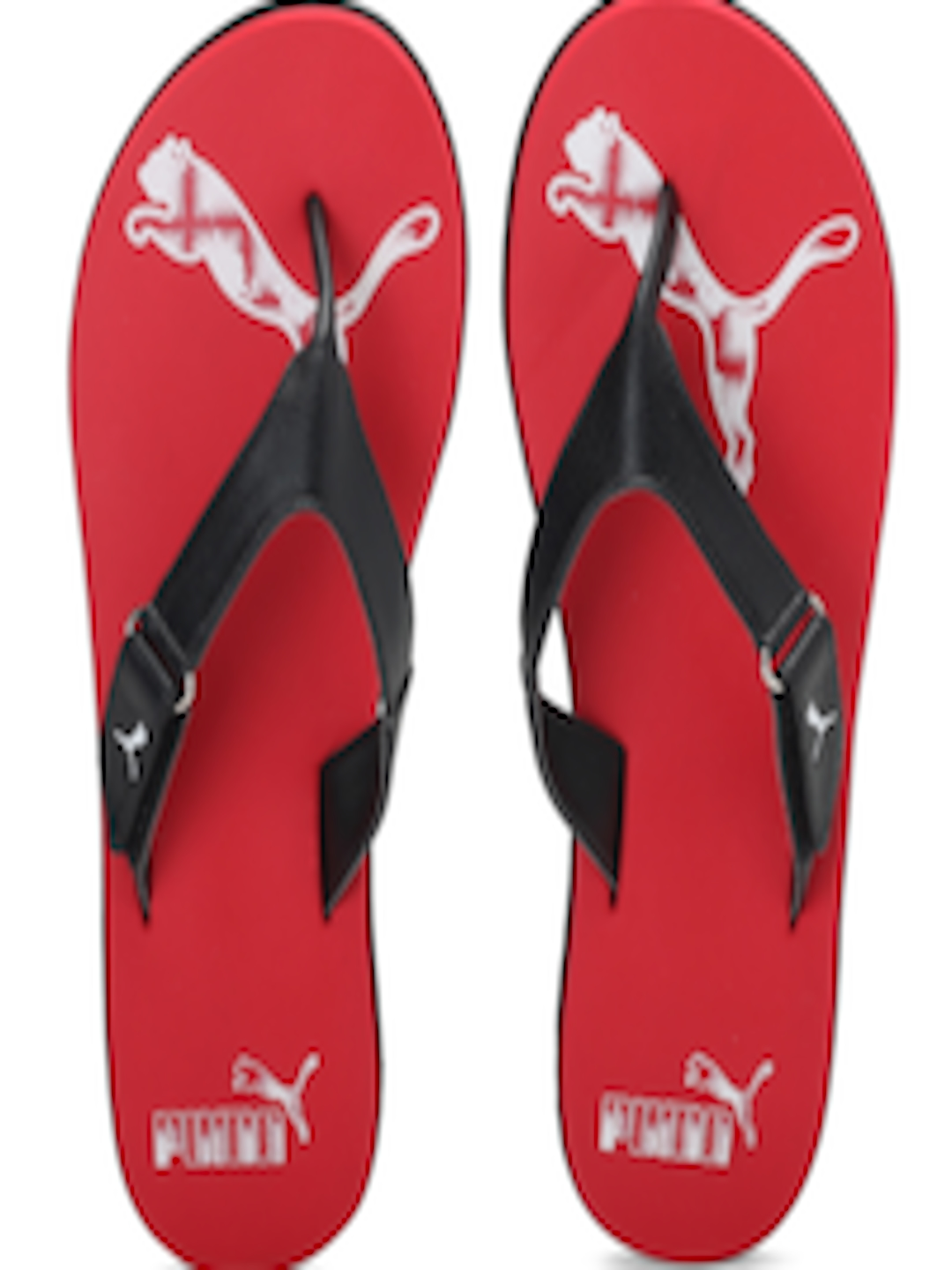 d6353af46316 Buy Puma Men Red   Black Breeze 2 NG IDP Flip Flops - Flip Flops for Men  1909089