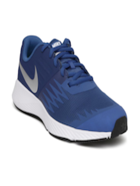 Buy Nike Boys Blue STAR RUNNER (GS) Running Shoes - Sports ...