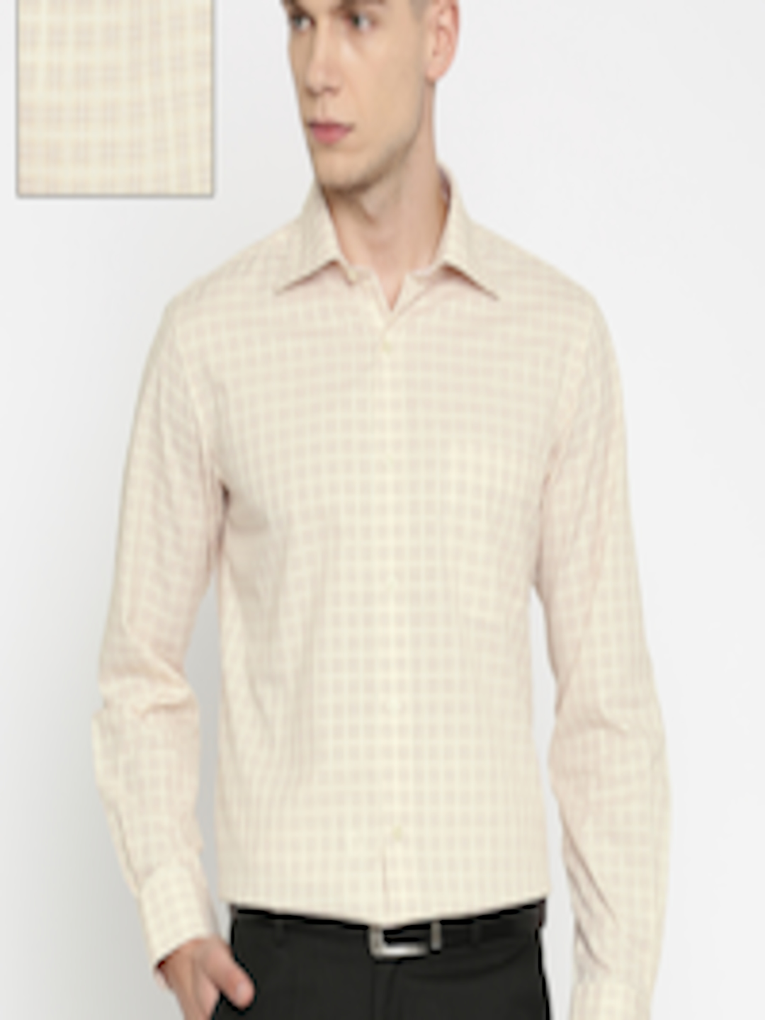 Arrow Fitted White Dress Shirts