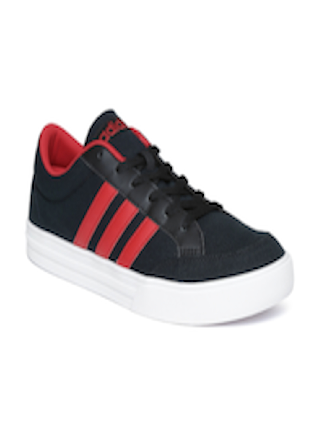 buy popular c9bdd 51846 Buy ADIDAS NEO Men Black VS SET Sneakers - Casual Shoes for Men 1989218    Myntra