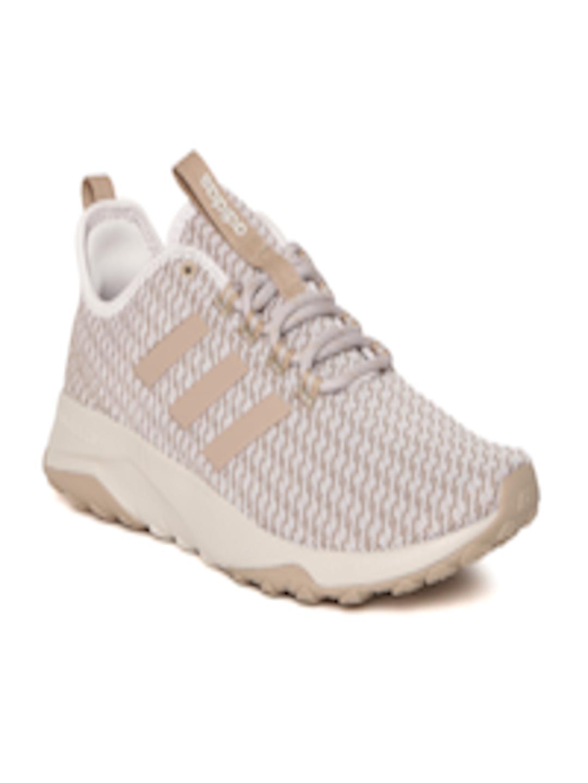 Buy ADIDAS NEO Men Beige CloudFoam SUPERFLEX Sneakers Footwear for Men