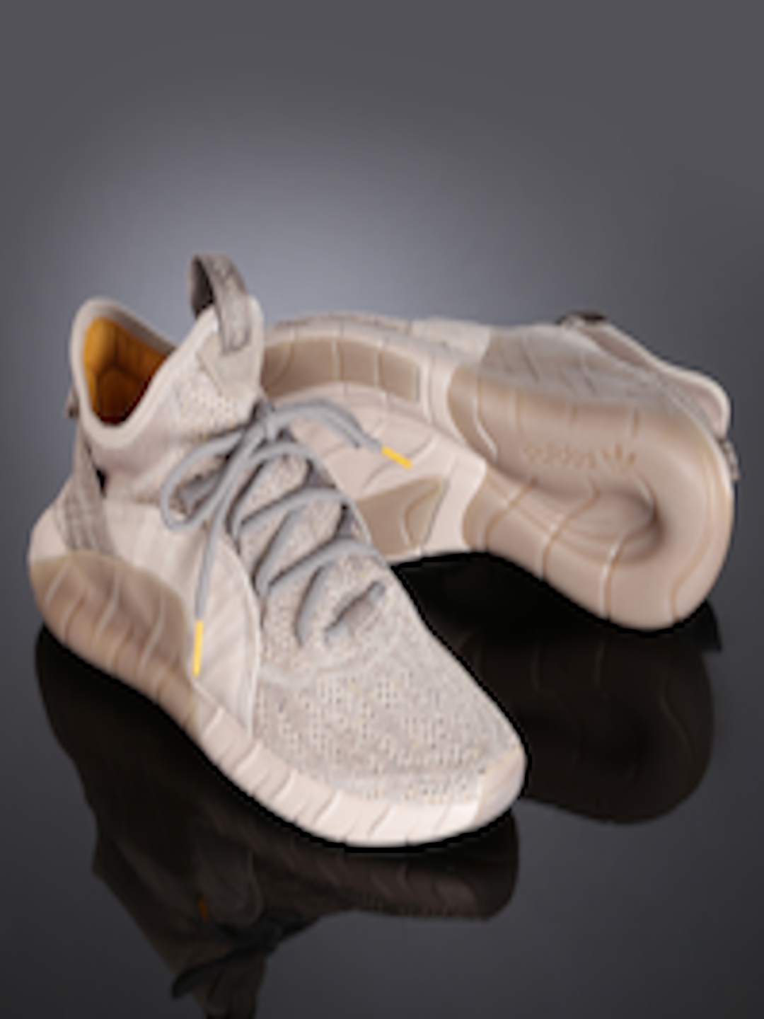 big sale 5c365 ce1c6 ADIDAS Originals Men Taupe Tubular Rise Sneakers