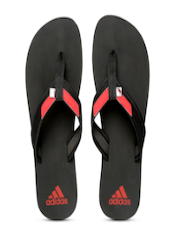 fd337f100b7f14 Buy ADIDAS Men Black   Red Adirio Attack 2 Flip Flops - Flip Flops for Men  1989420