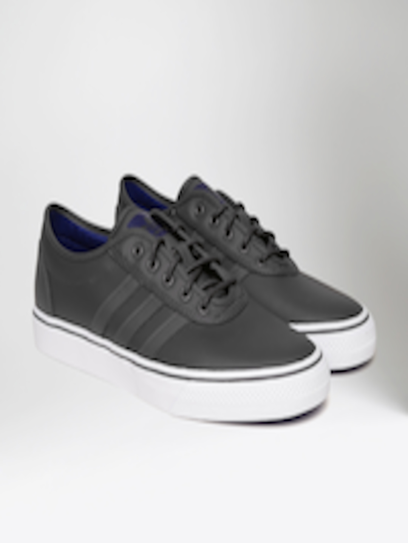 ADIDAS Originals Men Charcoal Grey Adi Ease Leather