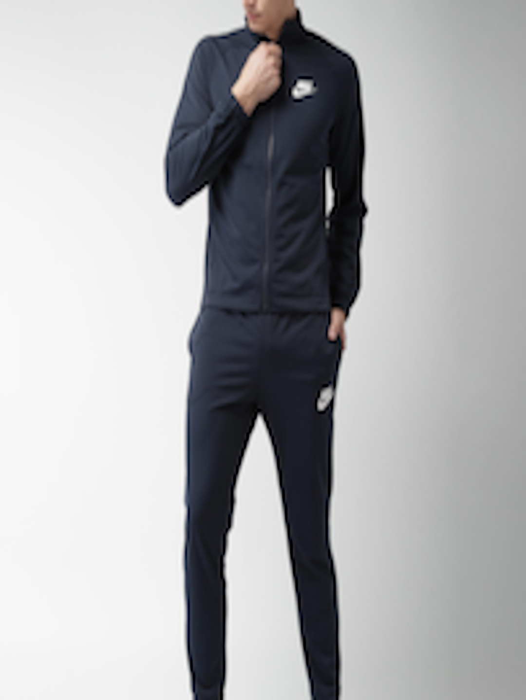 best sneakers 837f4 cbfae Nike Navy Blue AS M NSW TRK SUIT PK BASIC Tracksuit