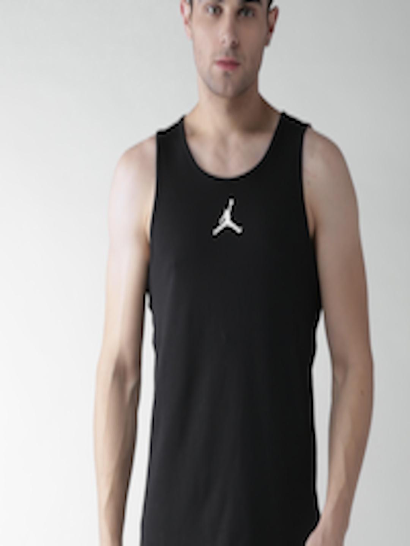 bb0504a25845 Buy Nike Jordan Rise Men Black Solid RISE DRI FIT Basketball Tank T Shirt -  Tshirts for Men 1995044