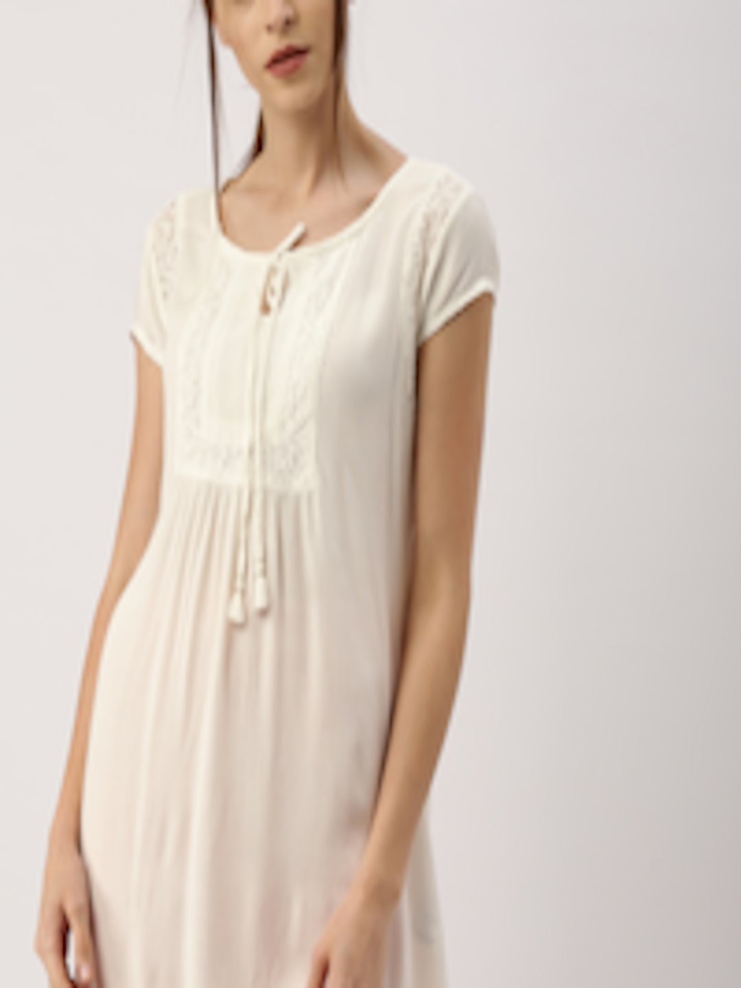 Buy All About You From Deepika Padukone Off White Lace ...